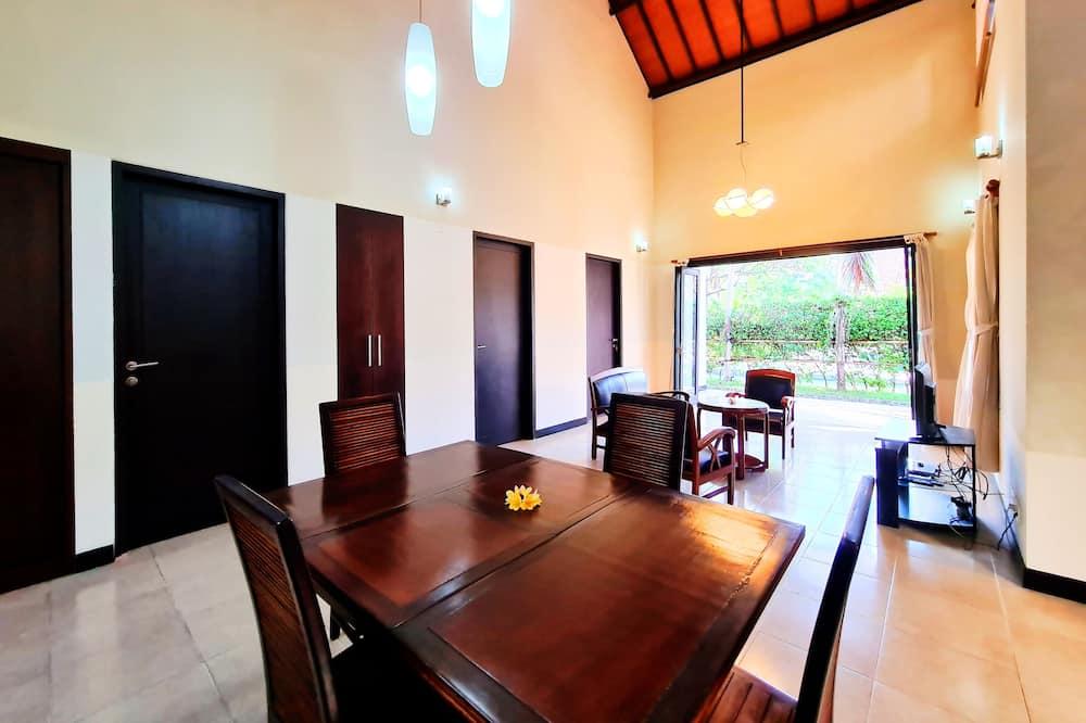 Villa, 2 hálószobával - Nappali