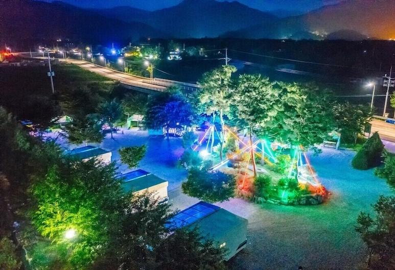Caravan Camping Farm, Gapyeong, Udendørsareal