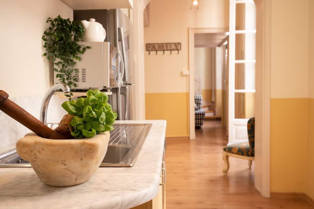Apartament, 2 sypialnie - Prywatna kuchnia