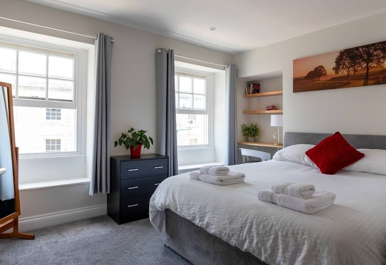 River views By Royal William Yard, Плімут, Міські апартаменти, 2 спальні, для некурців, з видом на річку, Номер