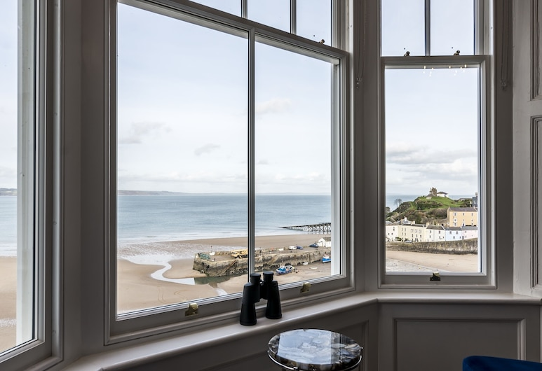 Fishermans Catch 2 Bedroom L. Apartment, Tenby, Luxury-Apartment, Strand-/Meerblick