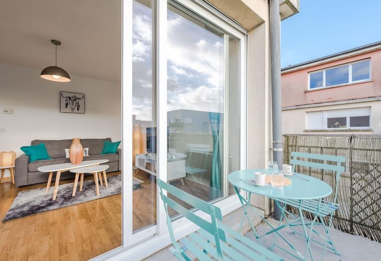 Crystal Apartment - Disneyland and Paris, Montévrain, Appartement Ville, Terrasse/Patio