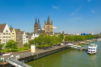 Mynd af City Apartments in Köln am Rheingarten í Cologne