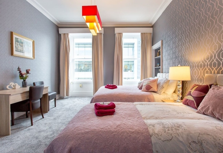 Stunning 2-bed Apartment in Central Edinburgh, Edinburgh, Lägenhet - flera sängar, Rum
