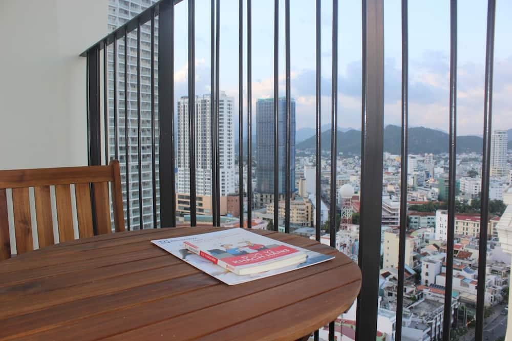 Studio, Meerblick - Balkon