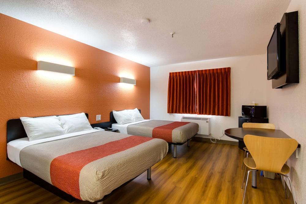 Habitación Deluxe, 2 camas dobles, no fumadores, frigorífico y microondas - Habitación