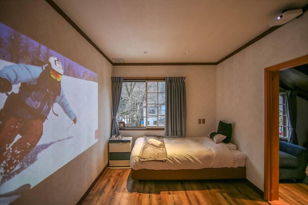Vierbettzimmer - Wohnzimmer