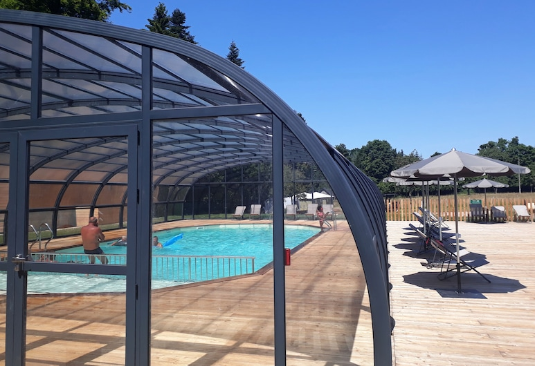 Huttopia Calvados, Moyaux, Indoor Pool