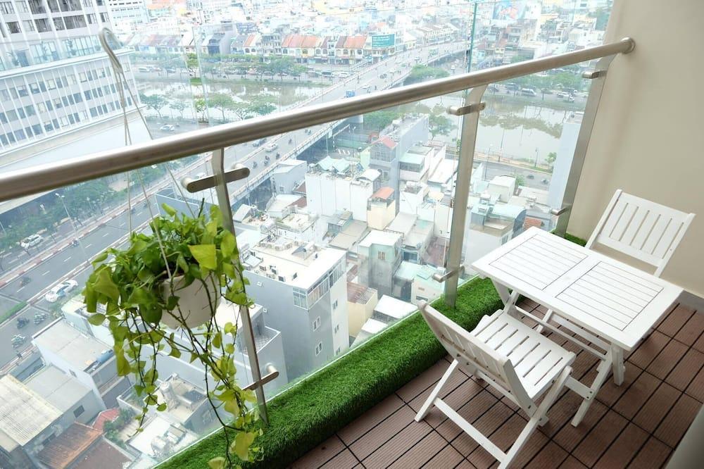Panoramic külaliskorter, 1 magamistoaga - Rõdu