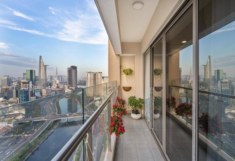 Thai Anh House - Masteri Millenium, Hočiminovo mesto, Luxusný apartmán, 3 spálne, Balkón