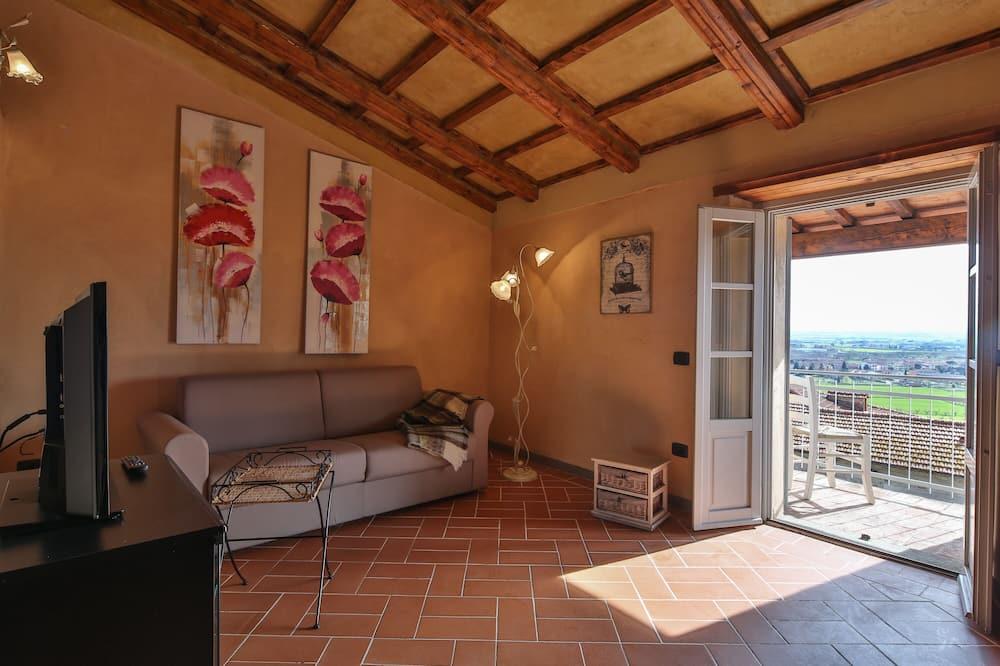 Панорамные апартаменты (San Lazzo 2) - Зона гостиной