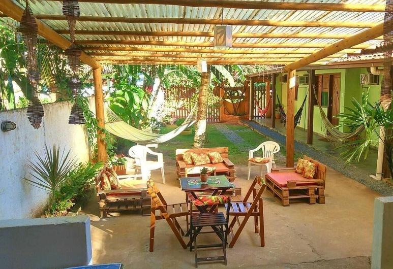 Pousada Tikuna, Itacare, Courtyard
