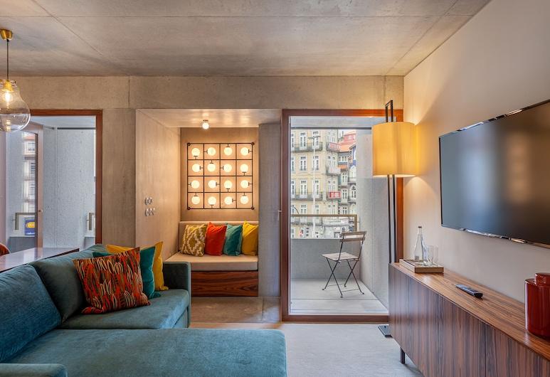 S.Bento Residences, Porto, Apartmán, 1 spálňa, Obývacie priestory