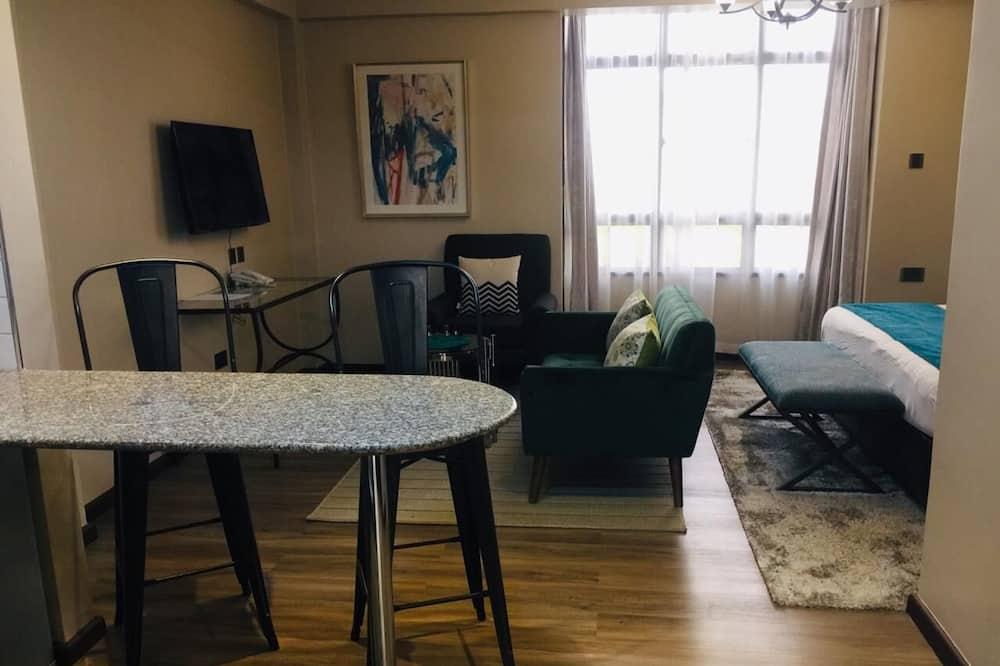 Studio Suite Cao cấp, 1 phòng ngủ - Khu phòng khách