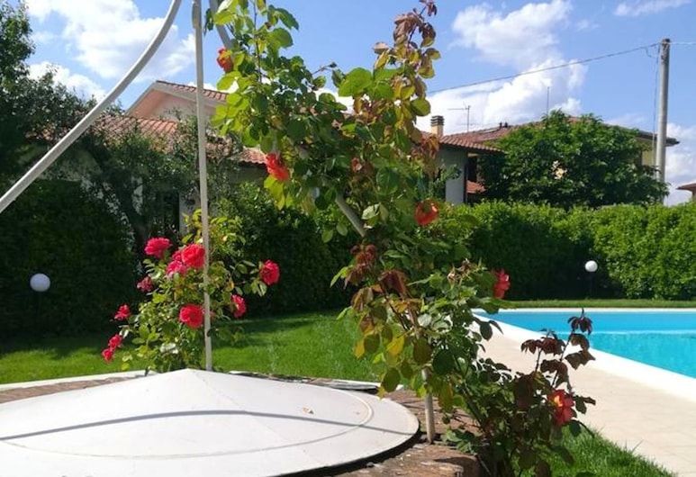 Apartment With 4 Bedrooms in Villa Campanile, With Private Pool, Furnished Terrace and Wifi - 50 km From the Beach, Castelfranco di Sotto, Vista aérea