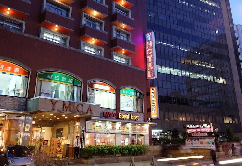 YMCA Taipei Y Hotel Taipei, Taipei, Voorkant hotel - avond/nacht