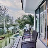 Villa, 2 hálószobával - Erkély