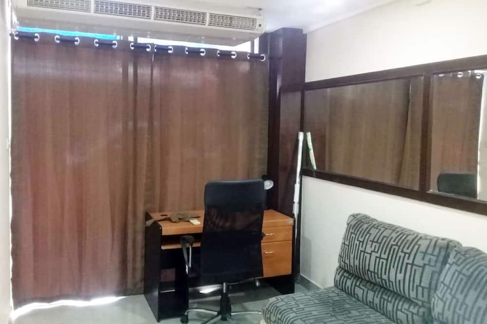 Comfort szoba kétszemélyes vagy két külön ággyal - Nappali rész