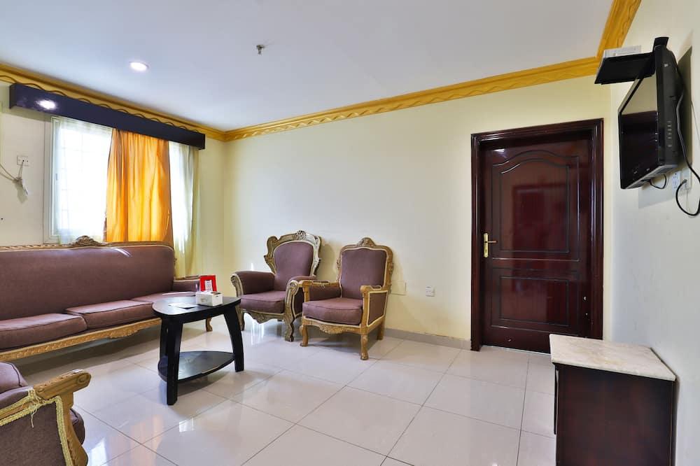 アパートメント 3 ベッドルーム - リビング ルーム