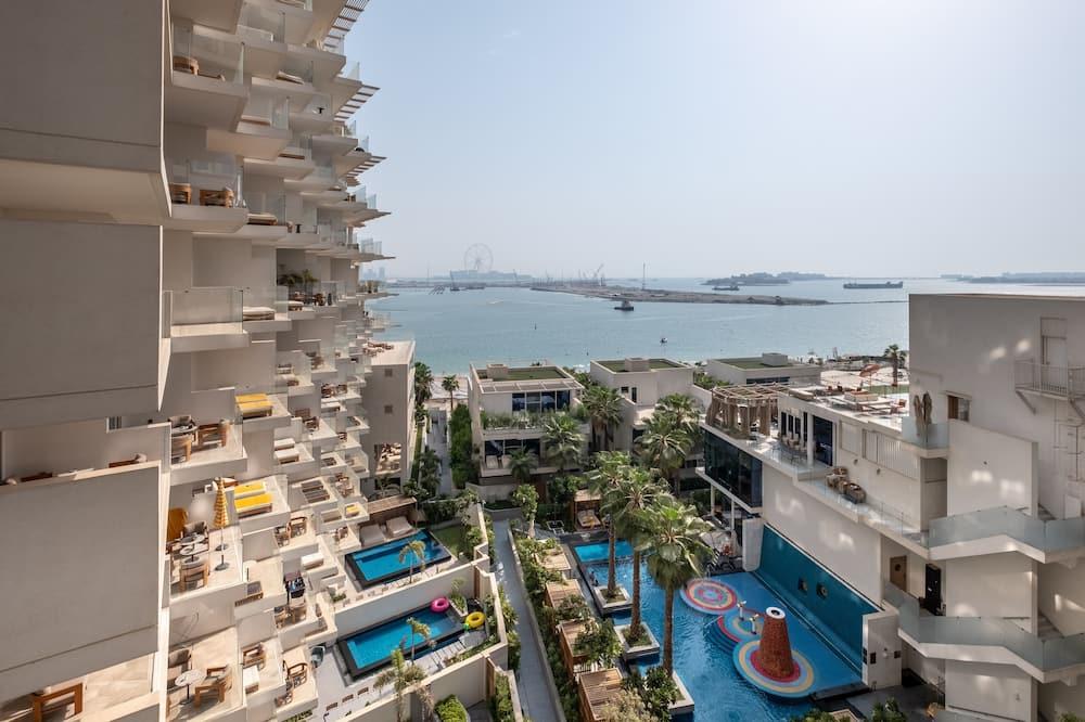 Appartement, 2 slaapkamers - Uitzicht op het water