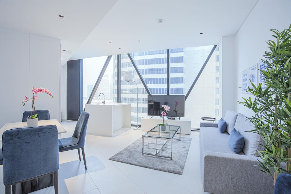 Deluxe Διαμέρισμα, 1 Υπνοδωμάτιο (717) - Περιοχή καθιστικού