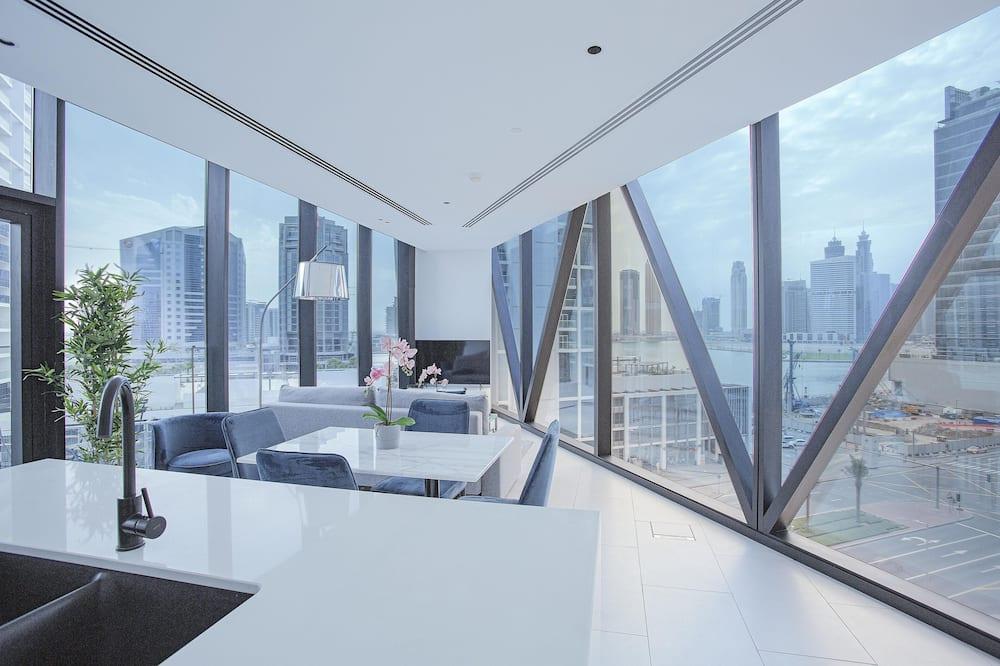 Deluxe Διαμέρισμα, 2 Υπνοδωμάτια (610) - Περιοχή καθιστικού