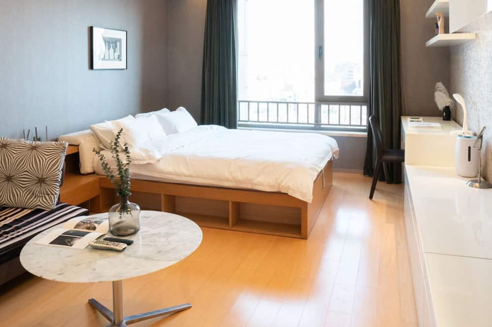 Apartamentai, 1 standartinė dvigulė lova - Kambarys
