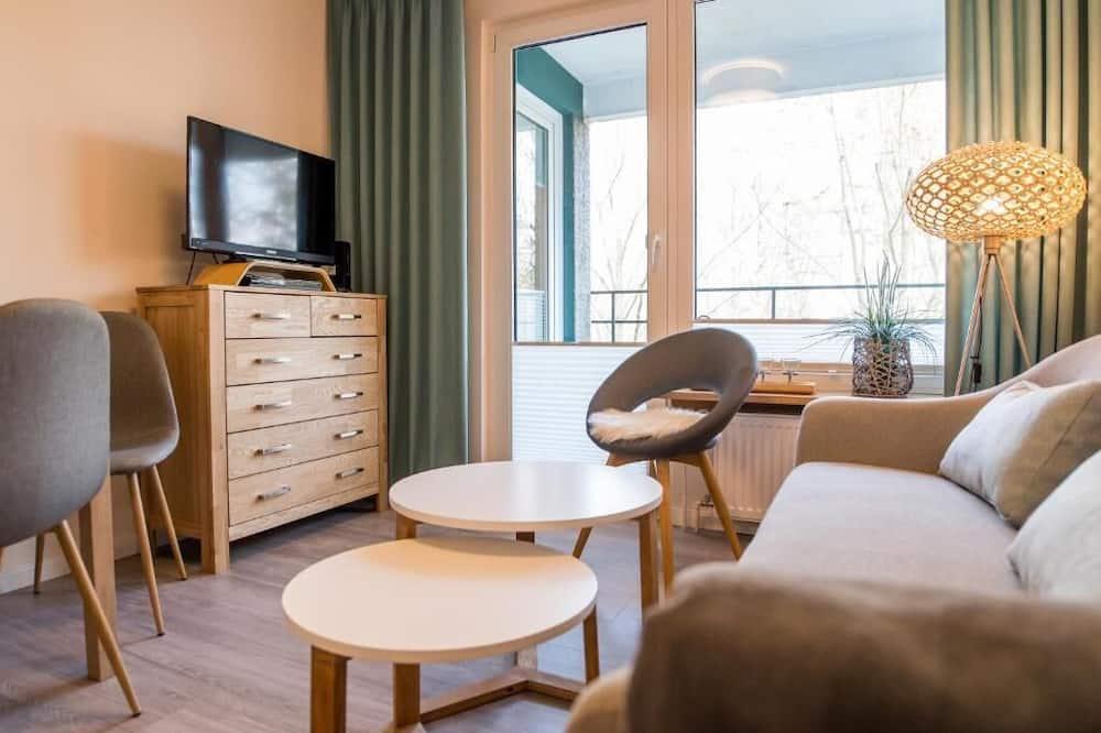 Ferienwohnung Sandwig - غرفة معيشة