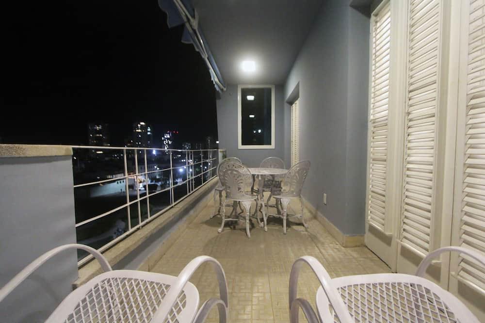 Dzīvoklis, viena guļamistaba - Balkons