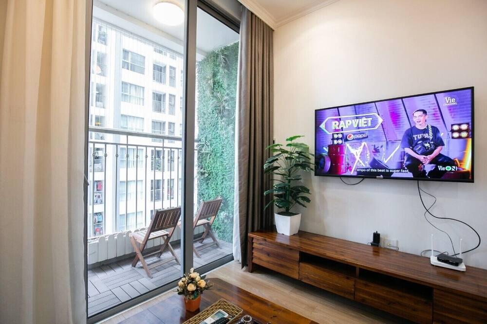 奢華公寓, 2 間臥室 - 露台