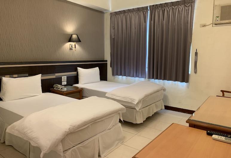 Kai Xin Hotel, زيلين, غرفة لفردين, غرفة نزلاء