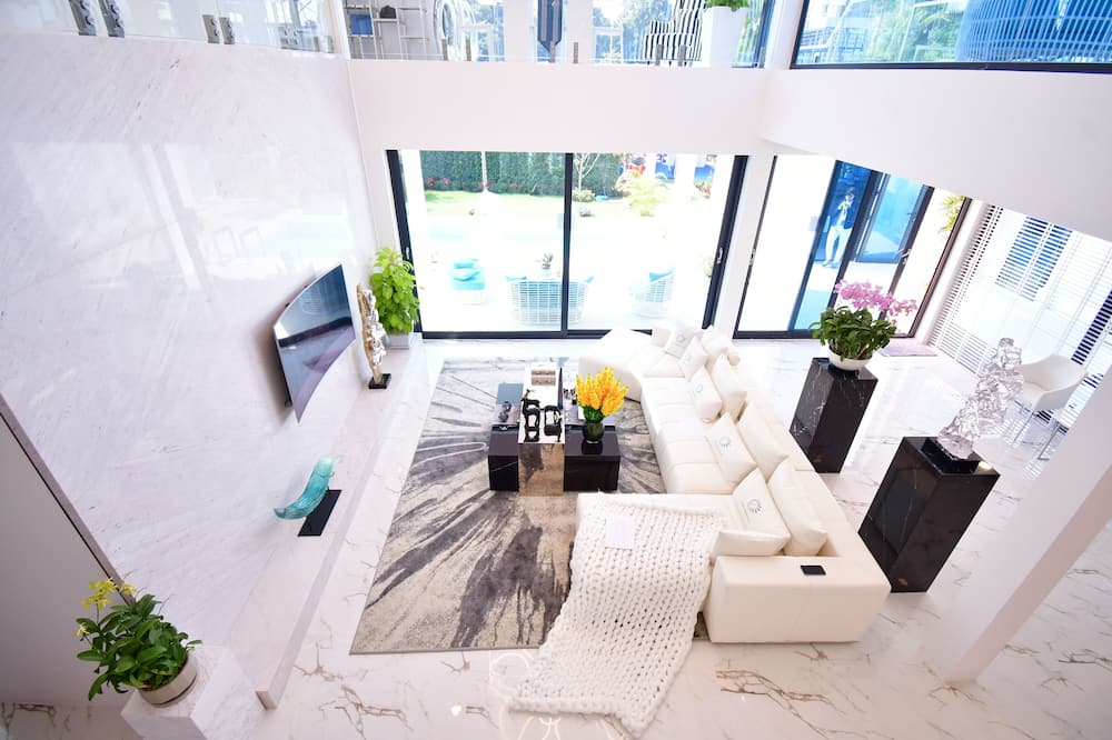 Luxury-Villa - Wohnbereich