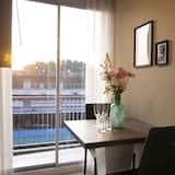 Comfort-Apartment, 1 Schlafzimmer - Essbereich im Zimmer