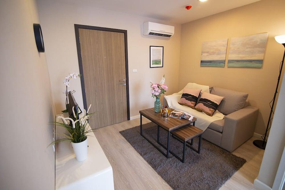 Comfort-lejlighed - 2 soveværelser - Opholdsområde