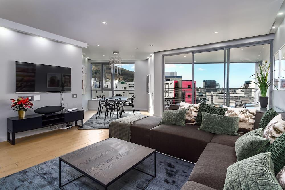 Elite-Apartment - Wohnbereich