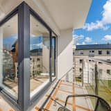 Apartamentai (2A ul. Żeromskiego 20, garaż podziemn) - Balkonas