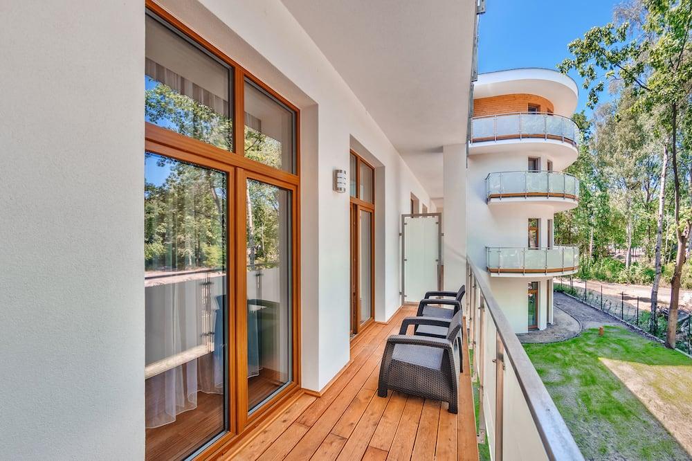 Apartamentai (A17) - Balkonas