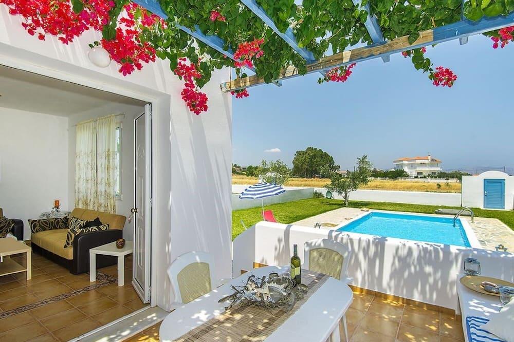 Villa, 2 chambres, piscine privée (2) - Balcon