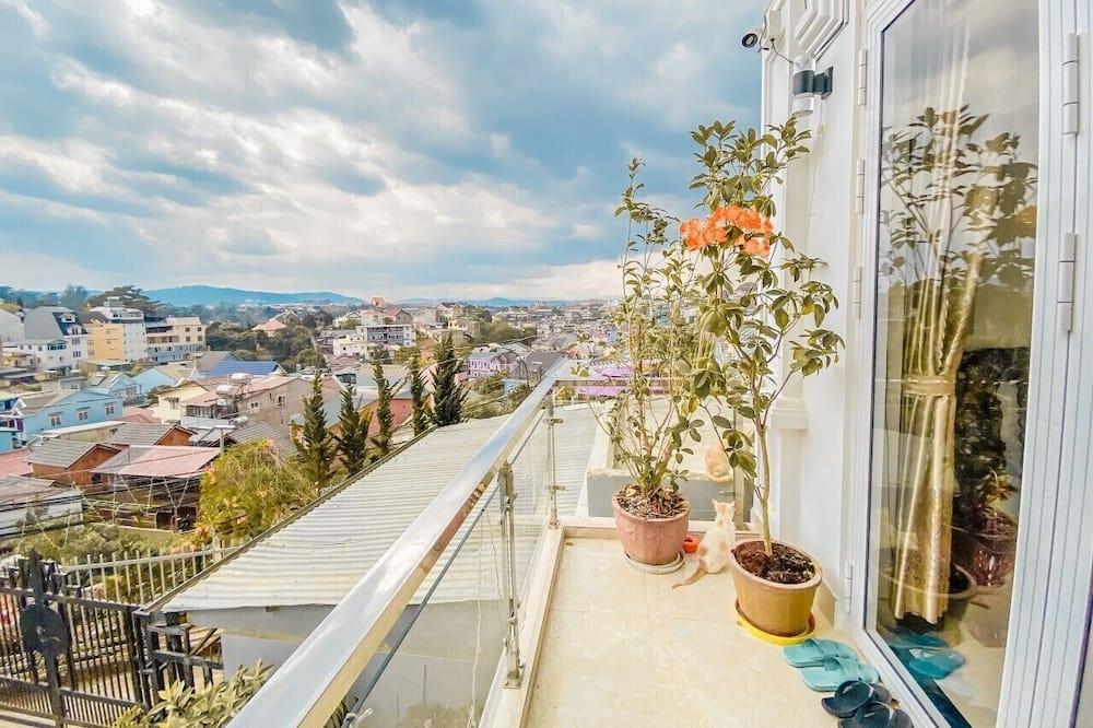Četverokrevetna soba, balkon - Pogled s balkona