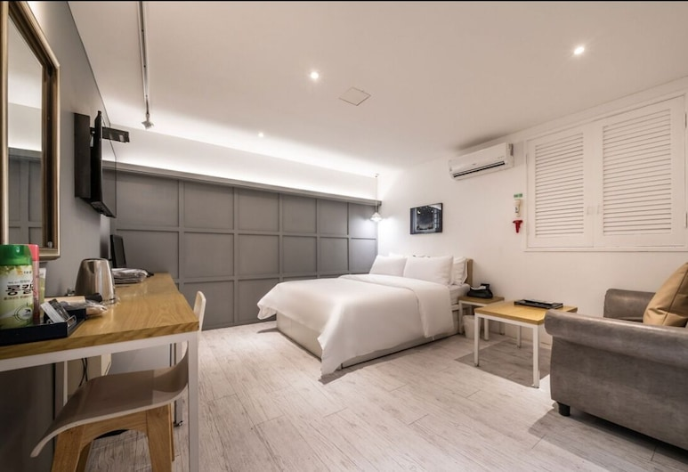 Hotel With You, 仁川, 豪華雙人房 (with Extra bed), 客房