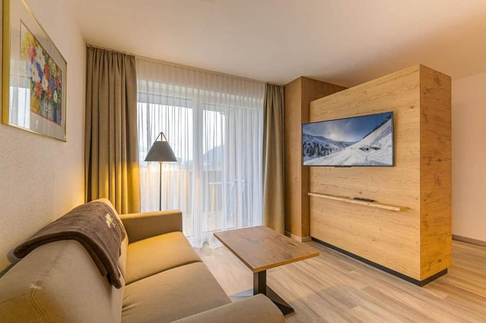 شقة (+) - غرفة معيشة