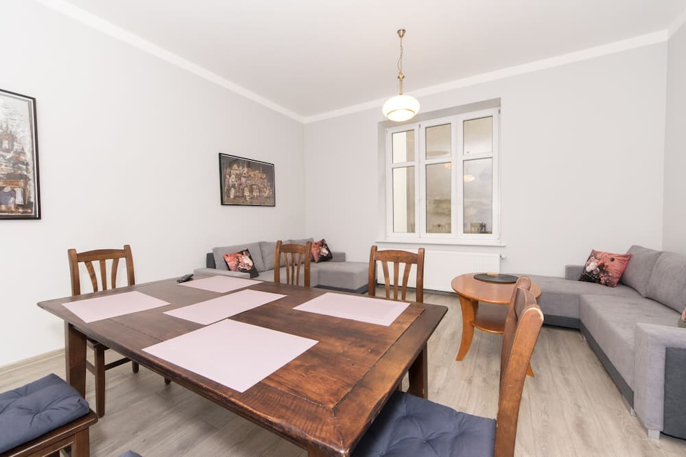City appartement - Woonkamer
