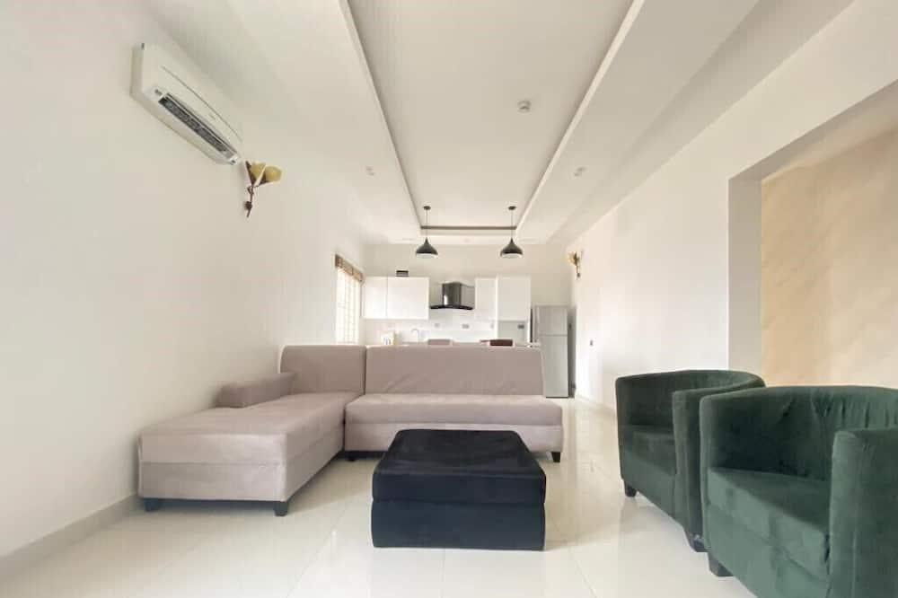 White Decor Penthouse