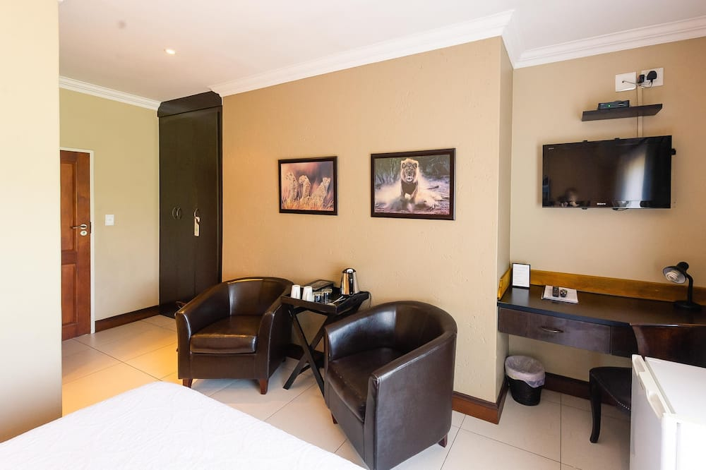 Chambre Exécutive (Safari) - Coin séjour