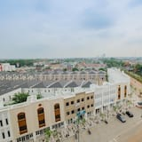 Zimmer - Blick auf die Stadt