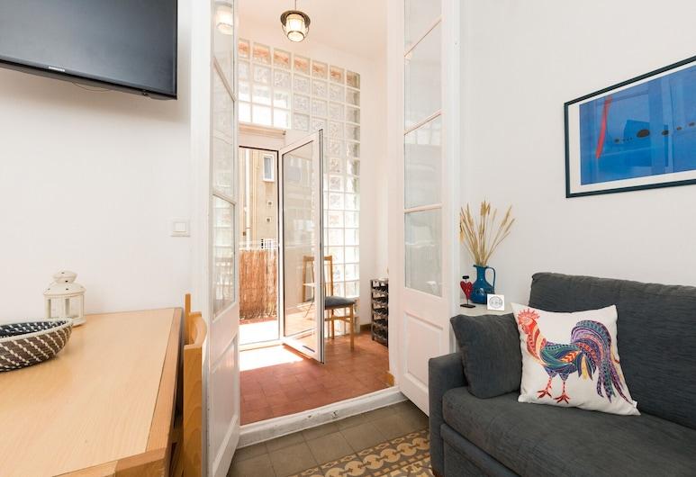Gracia Sant Agusti, 巴塞隆拿, 公寓, 3 間臥室, 露台, 客廳