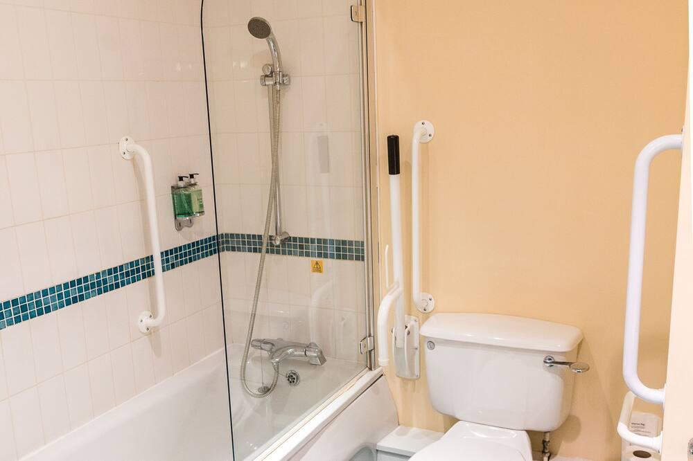 스탠다드 더블룸, 더블침대 1개, 장애인 지원 - 욕실