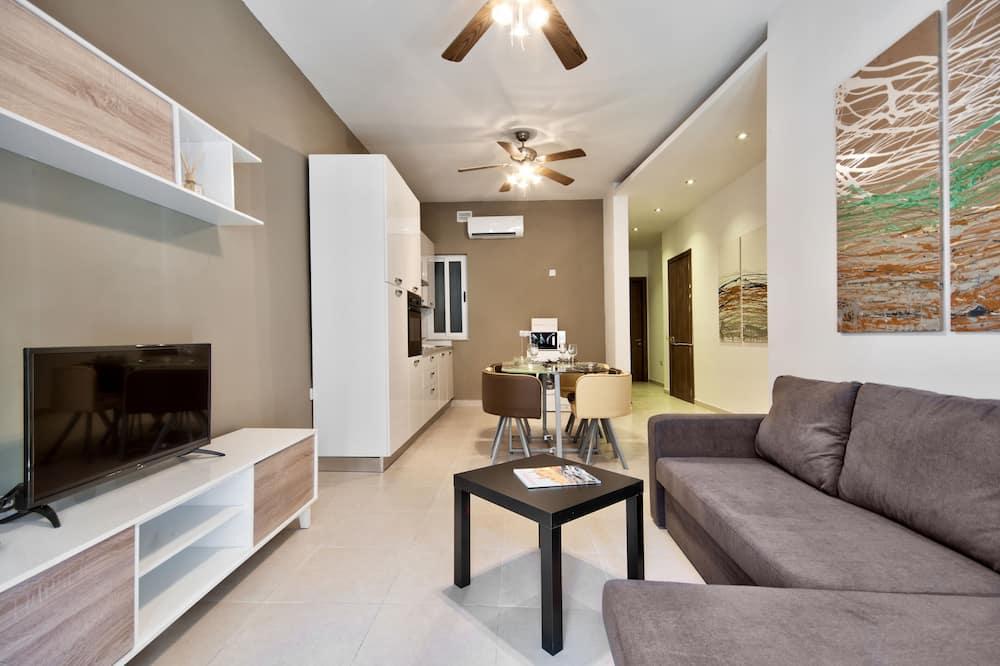 Departamento, 3 habitaciones (1) - Sala de estar