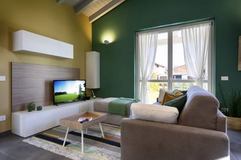 ヴィラ 3 ベッドルーム (Villa Par 5) - リビング ルーム