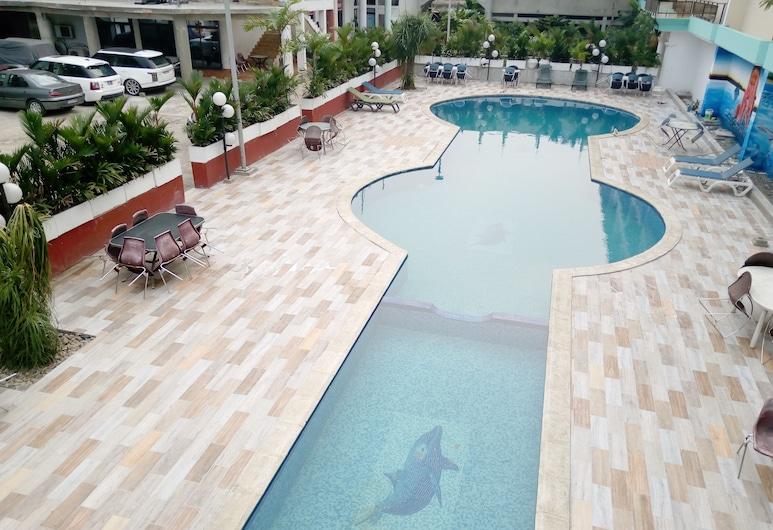 Complexe Hôtelier Asthoria palace, อบิดจัน, สระว่ายน้ำกลางแจ้ง
